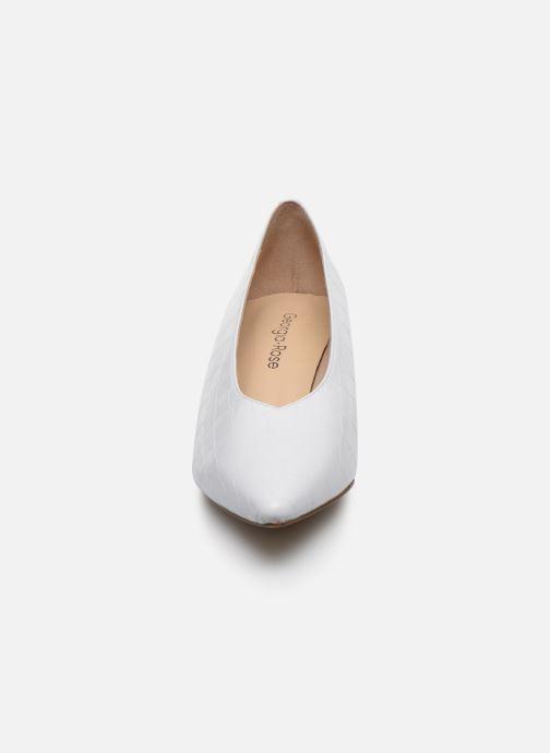 Escarpins Georgia Rose Lamoda Blanc vue portées chaussures