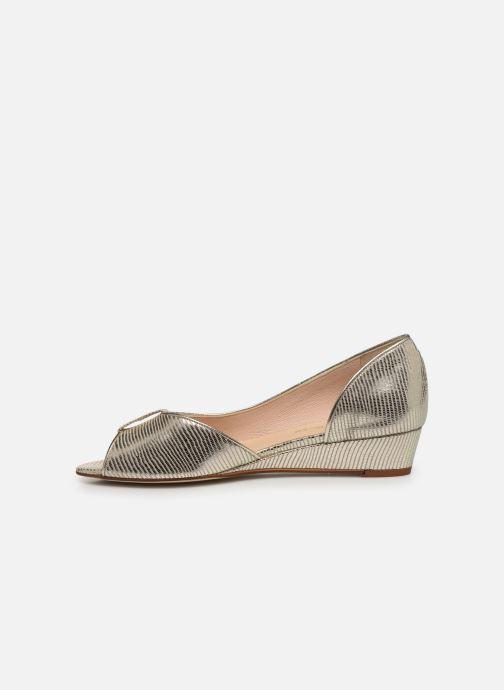 Zapatos de tacón Georgia Rose Laurinette Oro y bronce vista de frente