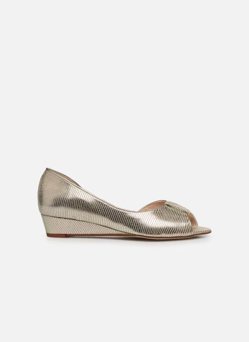 Zapatos de tacón Georgia Rose Laurinette Oro y bronce vistra trasera