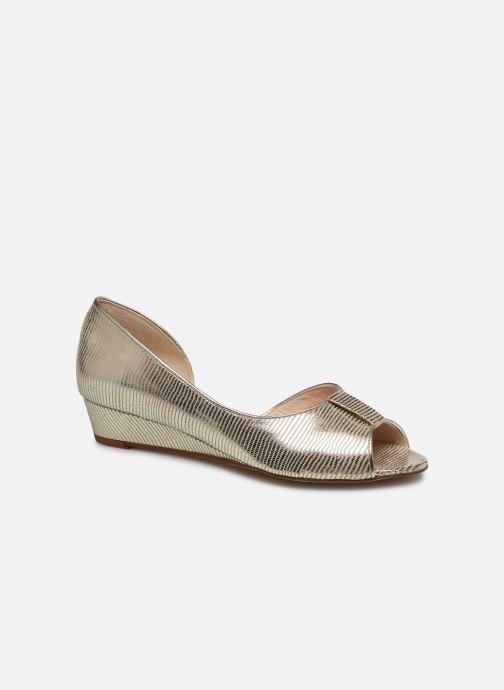 Zapatos de tacón Georgia Rose Laurinette Oro y bronce vista de detalle / par