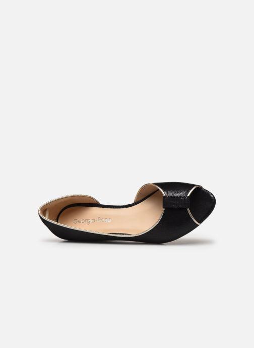Zapatos de tacón Georgia Rose Laurinette Negro vista lateral izquierda