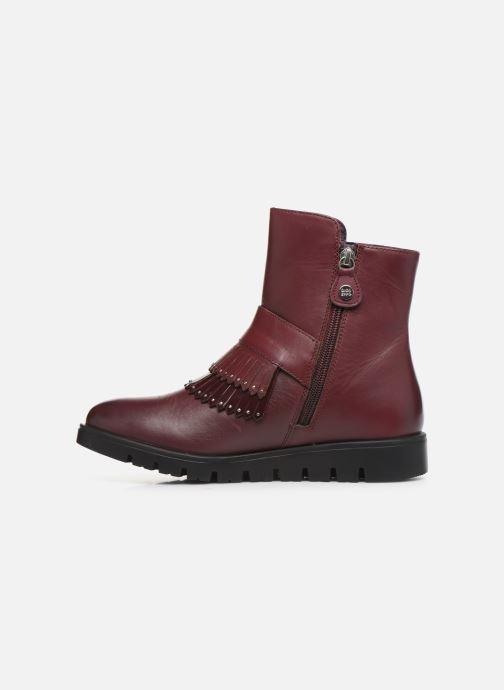 Bottines et boots Gioseppo Laxe Bordeaux vue face