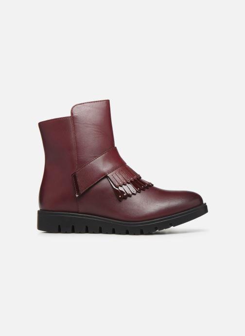 Bottines et boots Gioseppo Laxe Bordeaux vue derrière