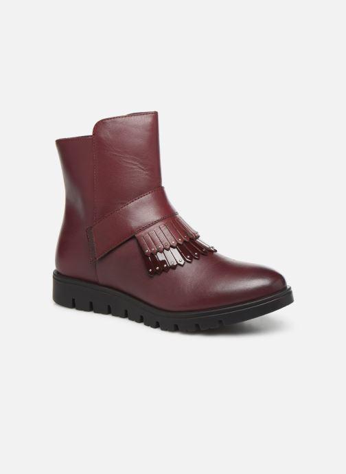Bottines et boots Gioseppo Laxe Bordeaux vue détail/paire