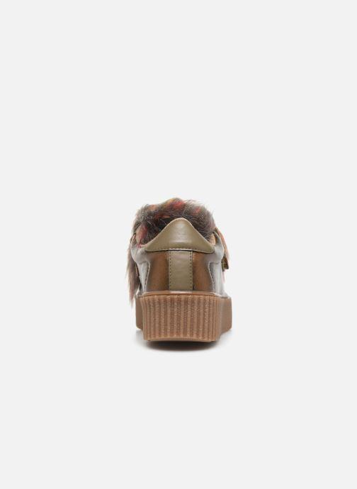 Baskets Gioseppo 41140 Or et bronze vue droite