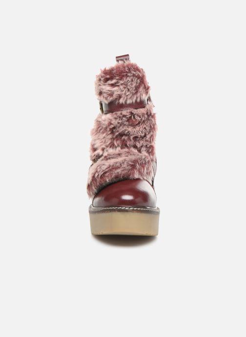 Stiefeletten & Boots Gioseppo 42003 weinrot schuhe getragen