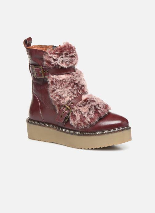 Bottines et boots Gioseppo 42003 Bordeaux vue détail/paire