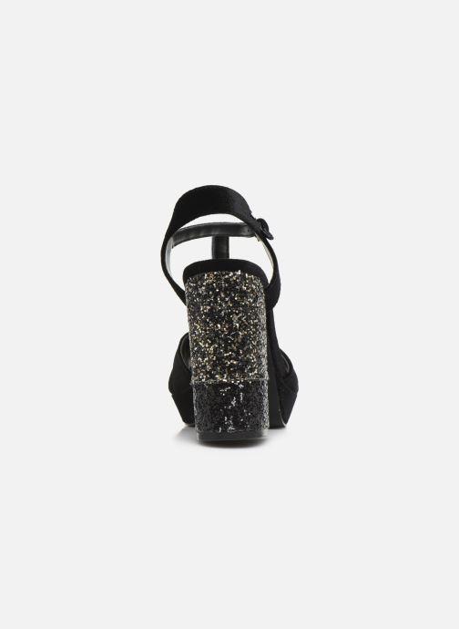 Sandales et nu-pieds Gioseppo 42025 Noir vue droite
