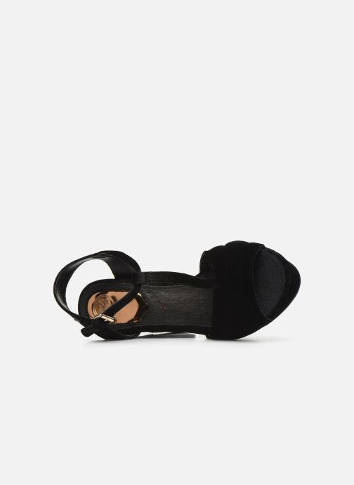 Sandales et nu-pieds Gioseppo 42025 Noir vue gauche