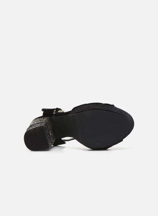 Sandales et nu-pieds Gioseppo 42025 Noir vue haut