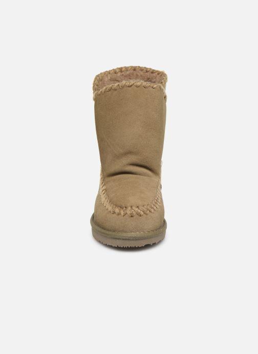 Bottes Gioseppo 42267 Beige vue portées chaussures