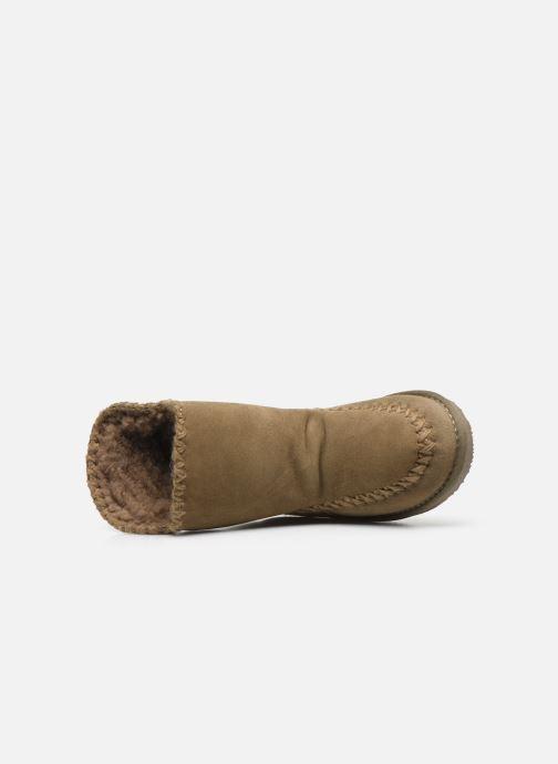 Stiefel Gioseppo 42267 beige ansicht von links