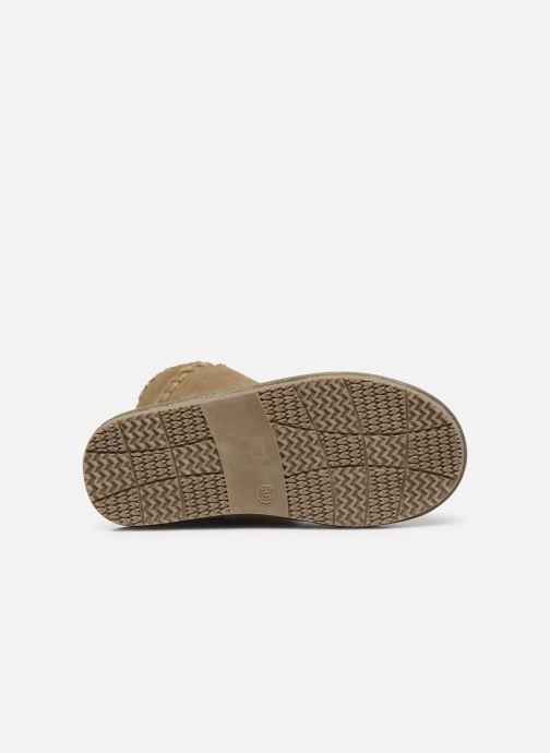 Stiefel Gioseppo 42267 beige ansicht von oben