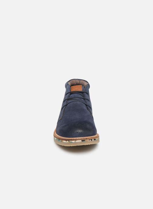 Bottines et boots Gioseppo 45559 Bleu vue portées chaussures
