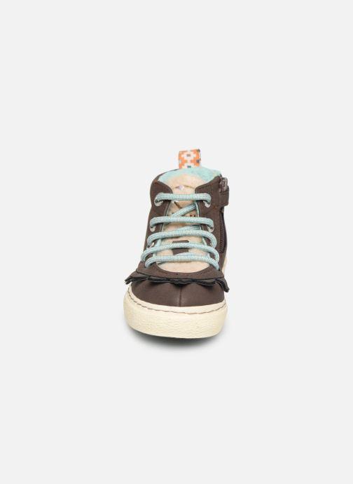 Baskets Gioseppo 45693 Marron vue portées chaussures
