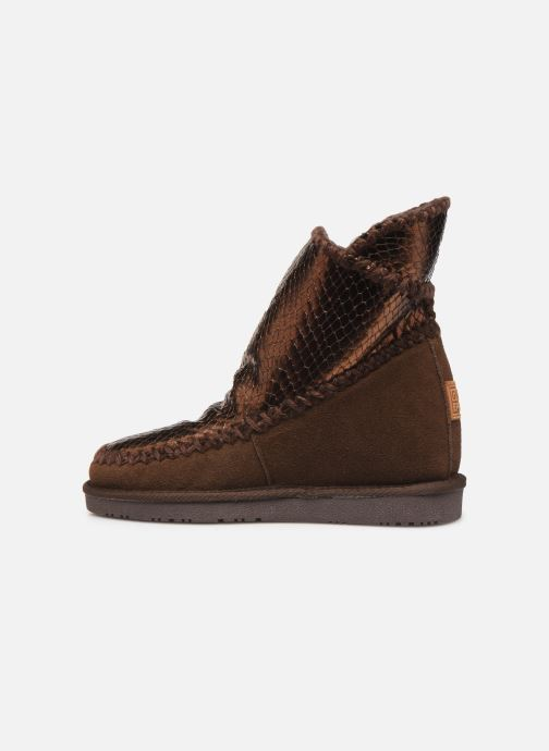 Bottines et boots Gioseppo 46461 Or et bronze vue face