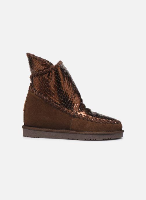 Bottines et boots Gioseppo 46461 Or et bronze vue derrière