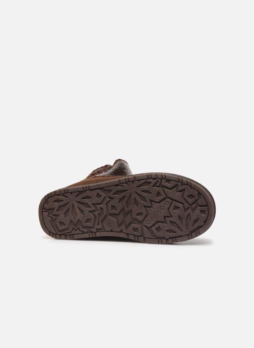 Bottines et boots Gioseppo 46461 Or et bronze vue haut