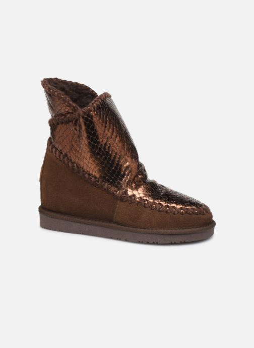 Ankle boots Gioseppo 46461 Bronze and Gold detailed view/ Pair view
