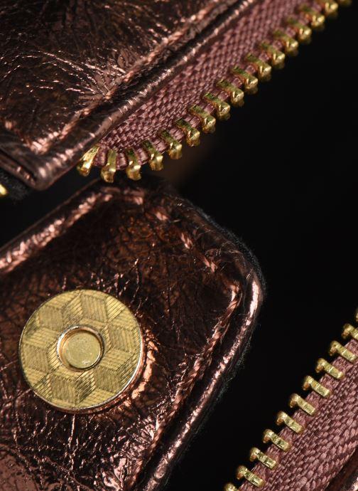 Bolsos de mano Gioseppo 46468 Oro y bronce vista lateral izquierda
