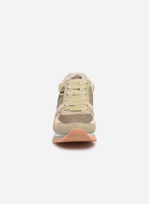 Sneaker Gioseppo 46568 gold/bronze schuhe getragen