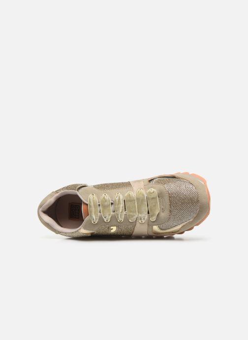 Sneaker Gioseppo 46568 gold/bronze ansicht von links