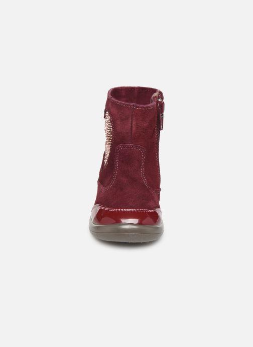 Stiefeletten & Boots Gioseppo 46657 weinrot schuhe getragen