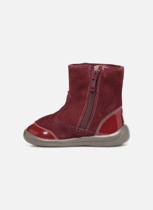 Ankle boots Gioseppo 46657 Burgundy front view