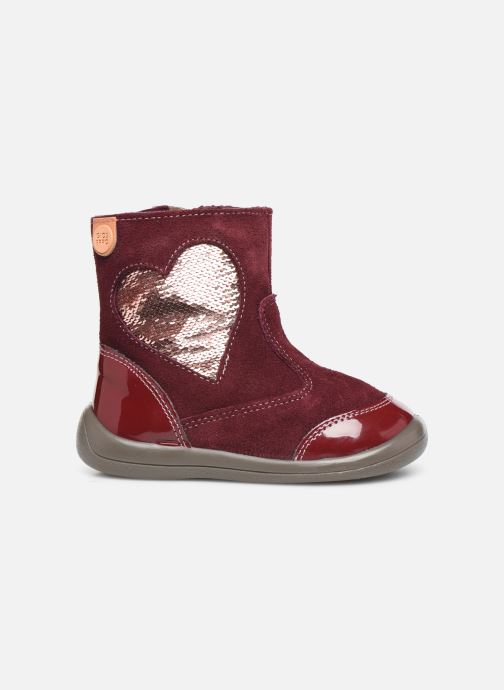 Ankle boots Gioseppo 46657 Burgundy back view