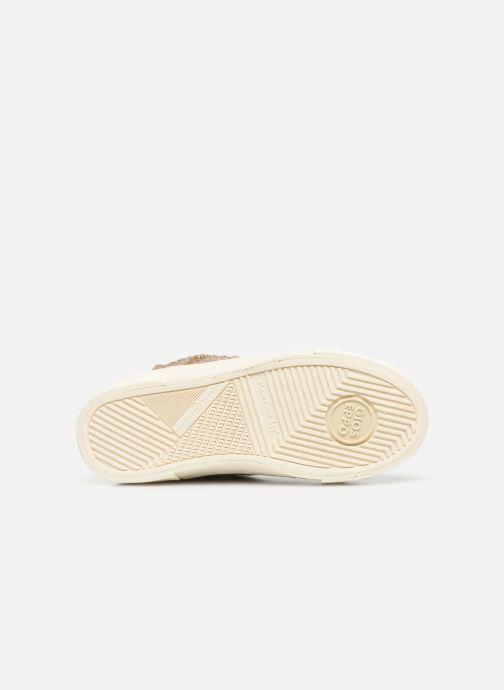 Baskets Gioseppo 46737 Beige vue haut