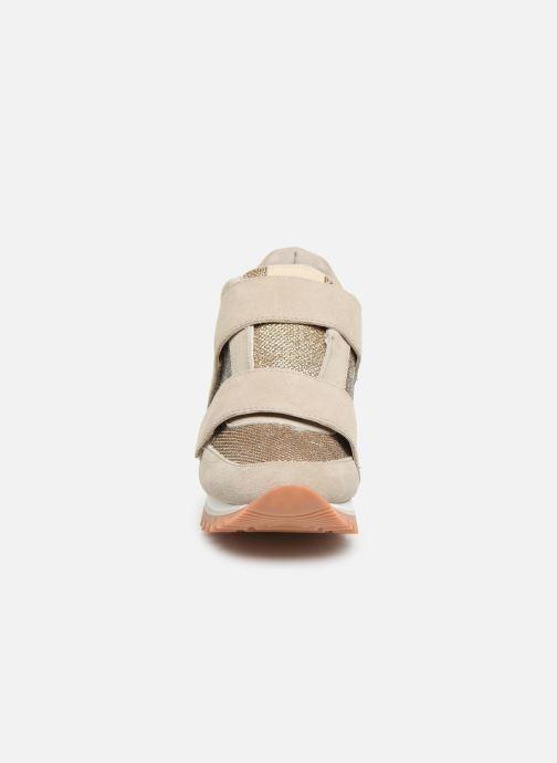 Sneaker Gioseppo 46893 beige schuhe getragen