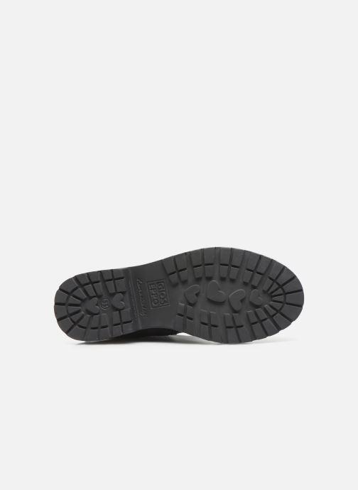 Stiefel Gioseppo R 46747 schwarz ansicht von oben