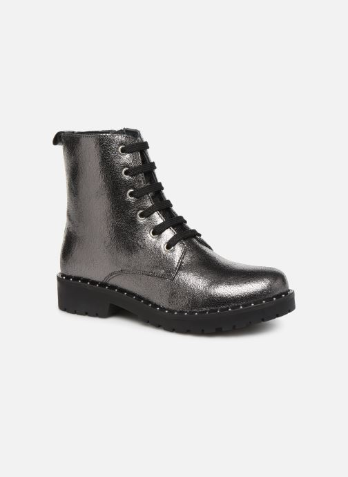 Ankle boots Gioseppo R 46748 Grey detailed view/ Pair view