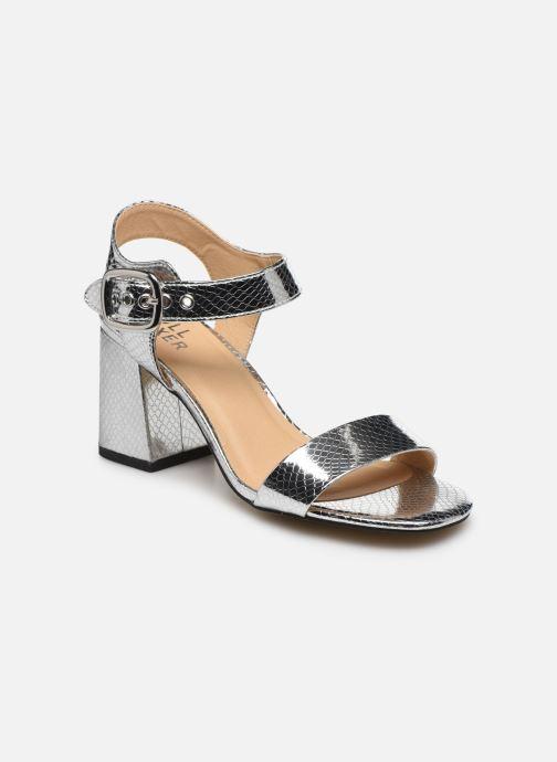 Sandaler Bullboxer 041002F2S Sølv detaljeret billede af skoene
