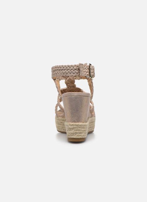 Scarpe di corda Bullboxer 175018F2T Oro e bronzo immagine destra