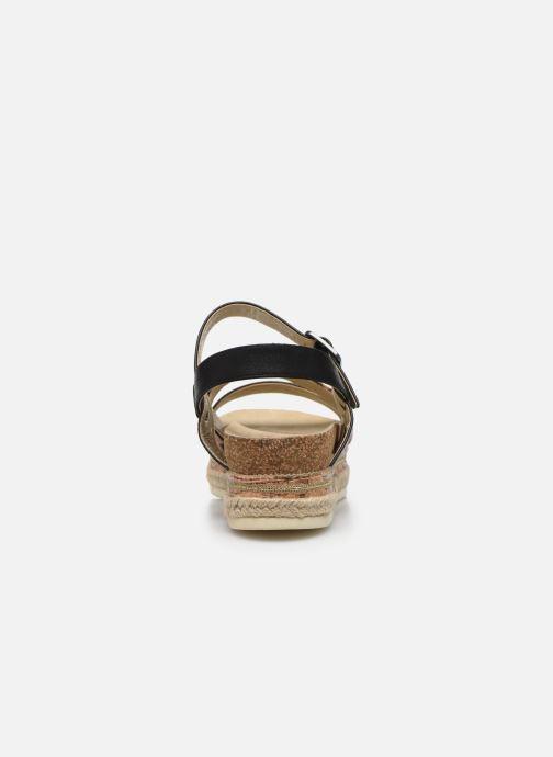 Sandalen Bullboxer 886033F1S Zwart rechts
