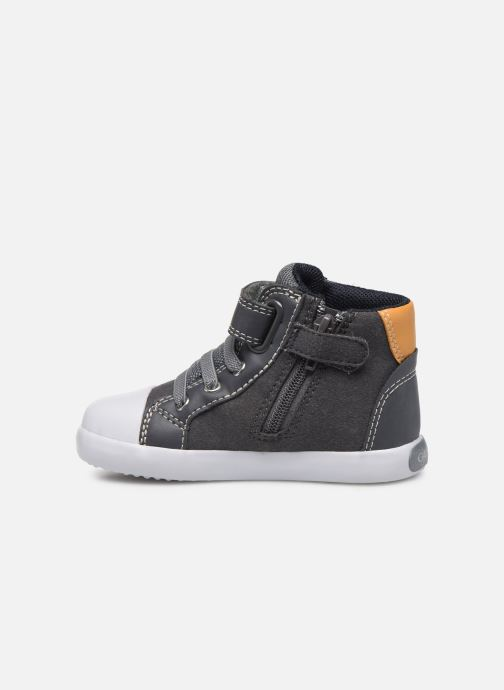 Baskets Geox B Gisli Boy  B741NA Gris vue face