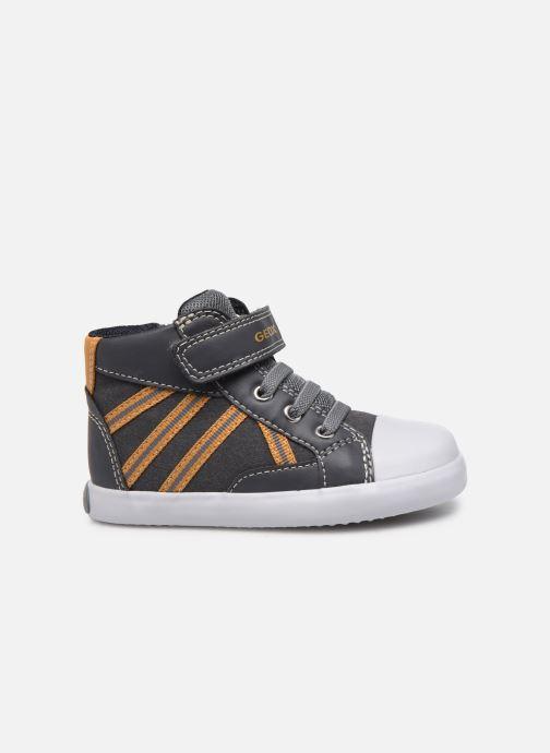 Sneaker Geox B Gisli Boy  B741NA grau ansicht von hinten