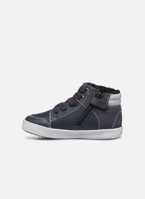 Baskets Geox B Gisli Boy  B741NB Gris vue face