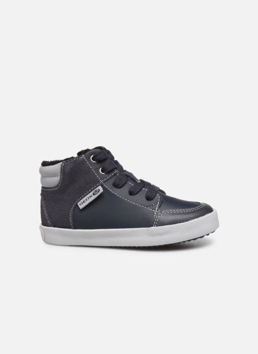 Sneaker Geox B Gisli Boy  B741NB grau ansicht von hinten