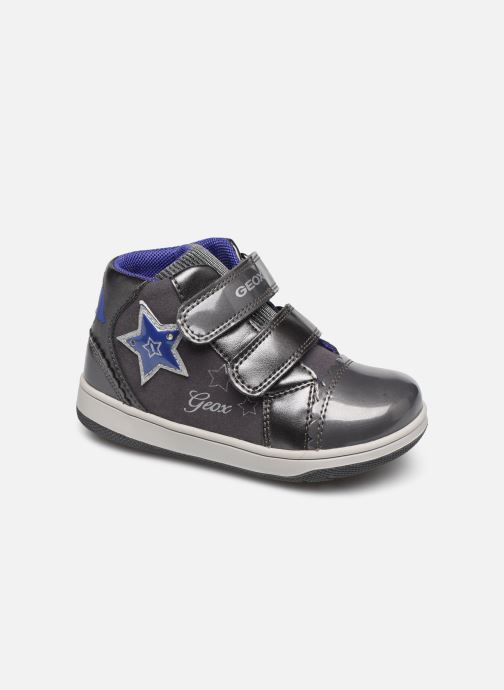 Trainers Geox B New Flick Girl B841HC Grey detailed view/ Pair view