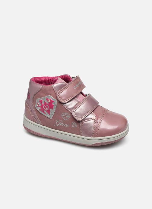 Baskets Geox B New Flick Girl C Rose vue détail/paire
