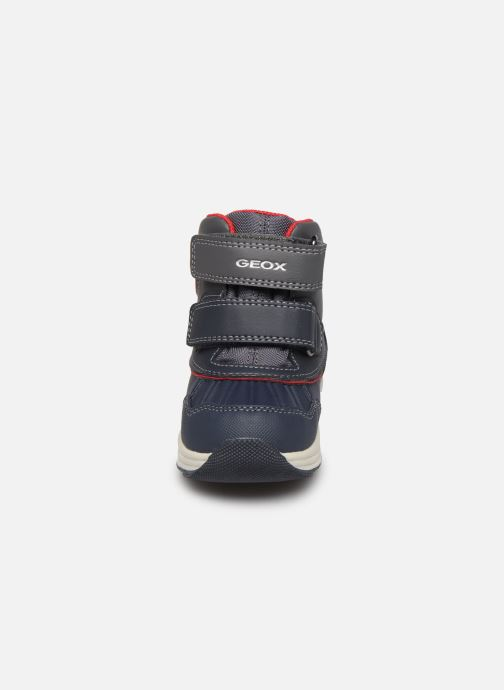 Stiefeletten & Boots Geox B New Gulp Boy ABX B841GA blau schuhe getragen
