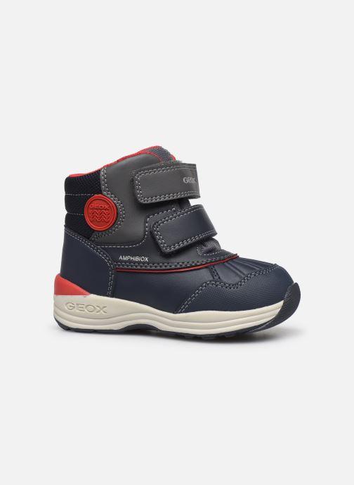 Stiefeletten & Boots Geox B New Gulp Boy ABX B841GA blau ansicht von hinten