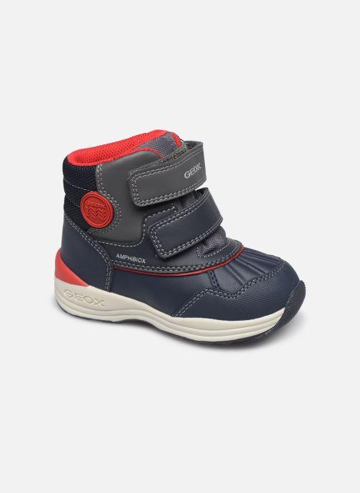 Stiefeletten & Boots Geox B New Gulp Boy ABX B841GA blau detaillierte ansicht/modell