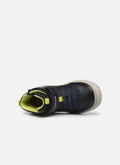 Sneakers Geox B Omar Boy B84D8A Blauw links