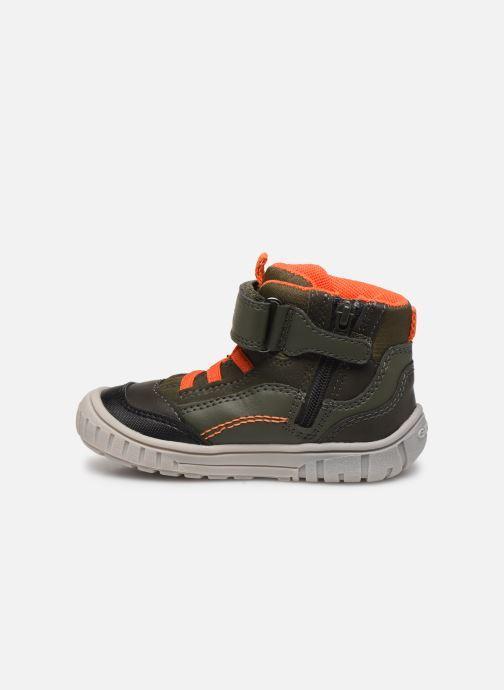 Sneakers Geox B Omar Boy B84D8A Verde immagine frontale