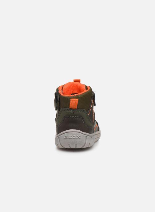 Sneakers Geox B Omar Boy B84D8A Verde immagine destra