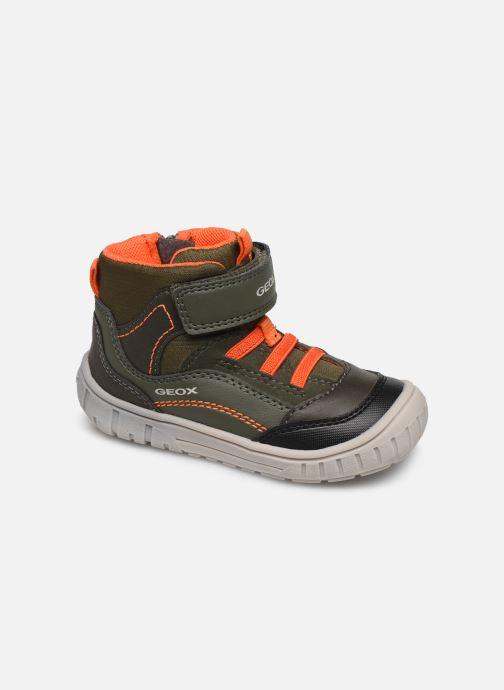 Sneakers Geox B Omar Boy B84D8A Verde vedi dettaglio/paio