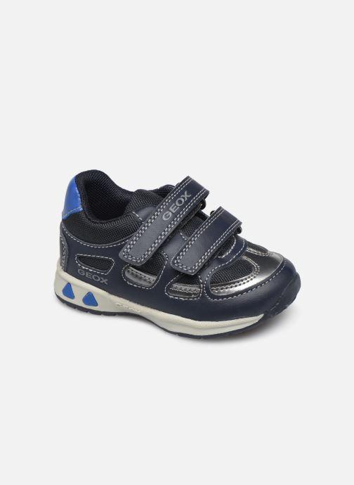 Baskets Geox B Pavlis Boy B741RA Bleu vue détail/paire